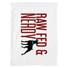 Load image into Gallery viewer, The Official Raw Fed and Nerdy Fleece Blankets