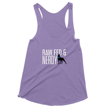 Load image into Gallery viewer, Official Women's Raw Fed and Nerdy Tank Top
