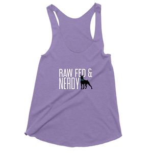 Official Women's Raw Fed and Nerdy Tank Top