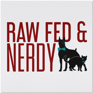 Raw Fed & Nerdy Placemat Cat & Dog