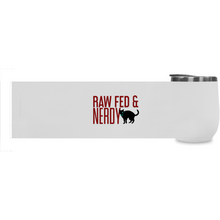 Load image into Gallery viewer, Cat Raw Fed & Nerdy Tumbler