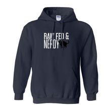 Load image into Gallery viewer, Cat Raw Fed & Nerdy Sweatshirt (Colors)