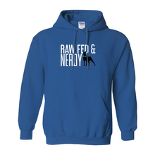Load image into Gallery viewer, Official Raw Fed & Nerdy Sweatshirt (Colors)