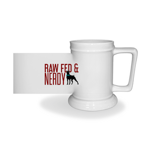 Official Raw Fed & Nerdy Beer Steins