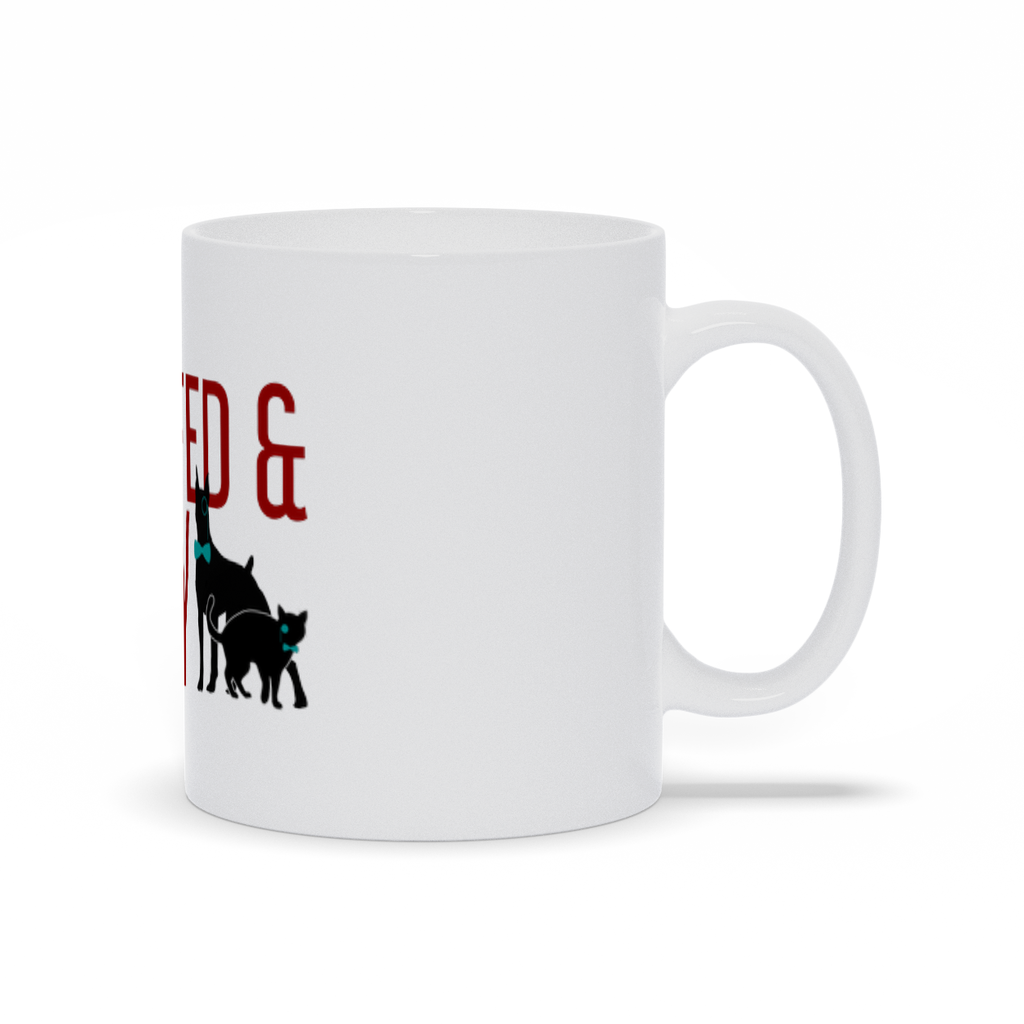 Cat & Dog Raw Fed & Nerdy Mug