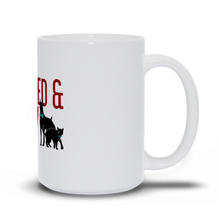 Load image into Gallery viewer, Cat & Dog Raw Fed & Nerdy Mug