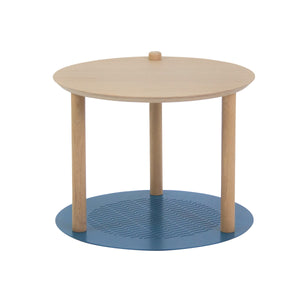 TABLE DE CHEVET DUO DE PLATEAUX by Constance