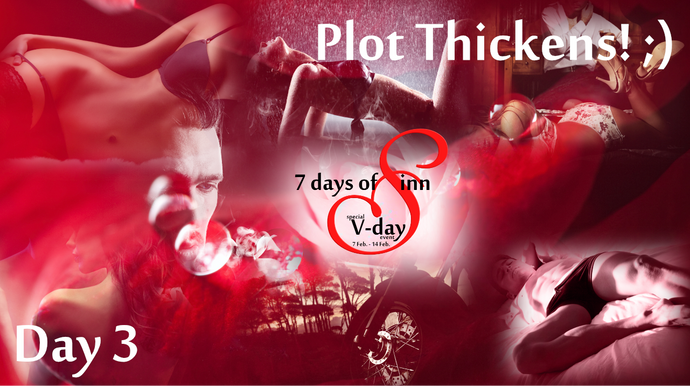 Day 3: The Plot thickens ;) (pun intended)