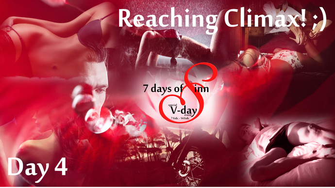 Day 4: Reaching Climax (Yes, mind in gutter acceptable) |