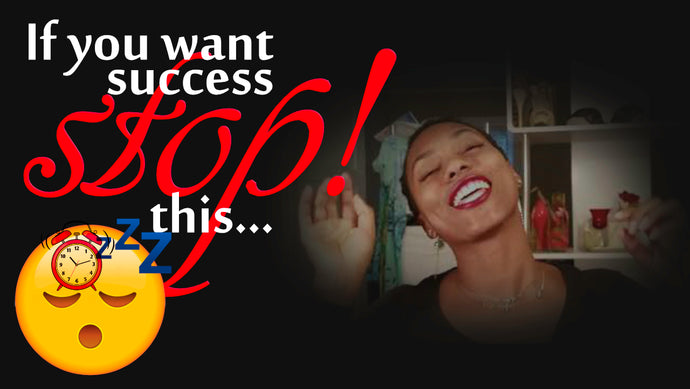 STOP! Snooze Through Life | Diary of a Happy A$$ Black Woman | (Video) |