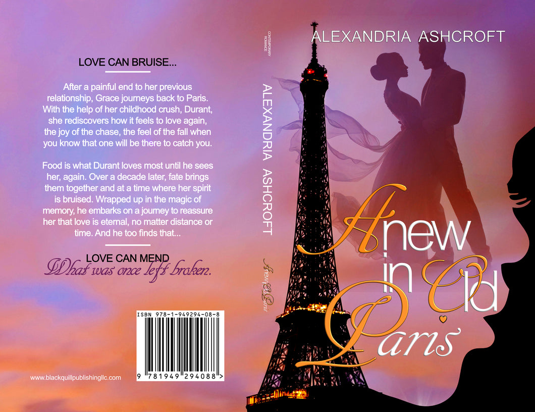 Anew in Old Paris (book - print) (COMING SOON)