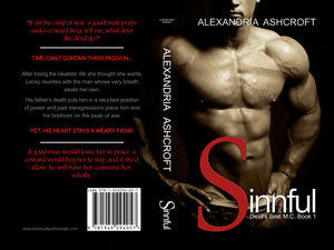 Sinnful (Devil's Sinn M.C. Book 1) (book - Print) (AVAILABLE NOW!!)