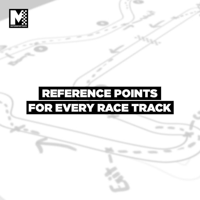 Reference Points For Every Race Track