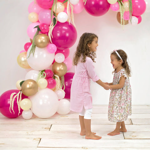 social distancing kids party balloon garland kit