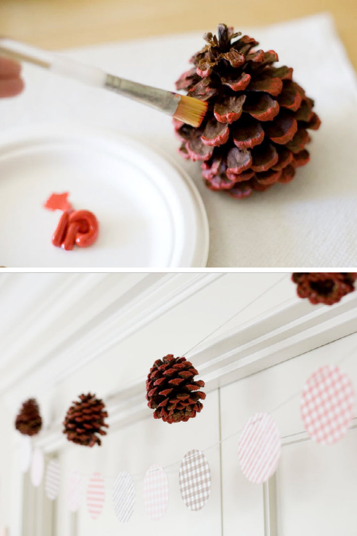 painted pinecomb tutorial