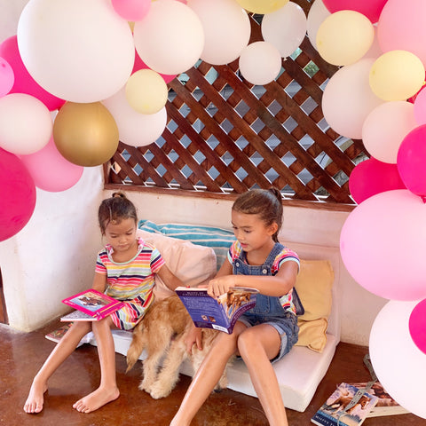 social distancing party kids balloon garland kit
