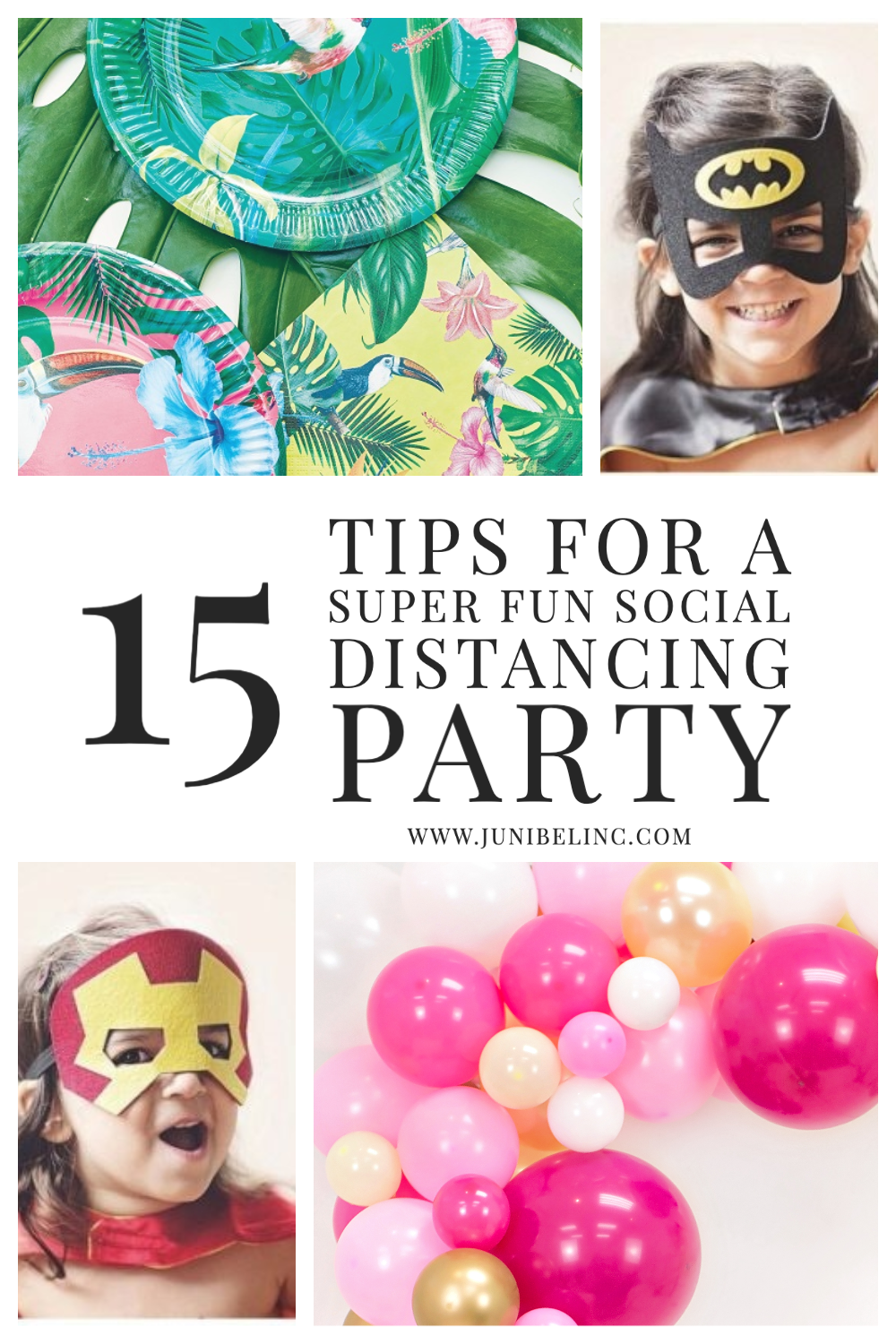 15 Top Tips to Plan a Super Fun Social Distancing Party Balloon Garland