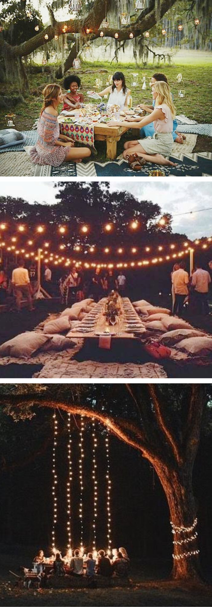 summer garden party patio lights mood twinkle lights
