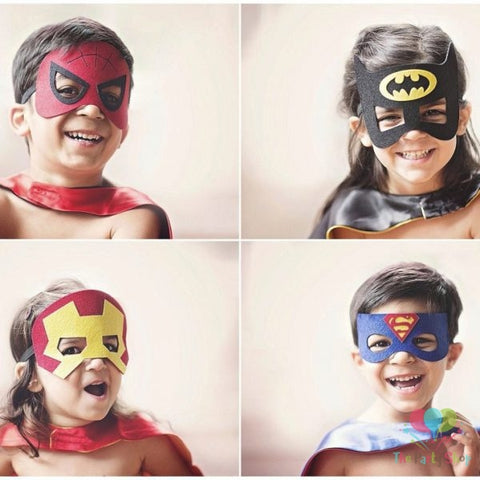 social distancing kids party dressup superhero costume
