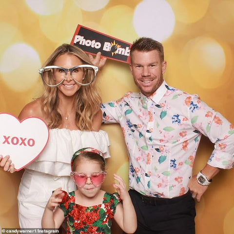 social distancing party activities with kids family photo booth props