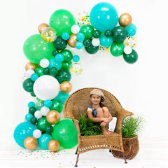 EMERALD Balloon Garland Kit - Junibel