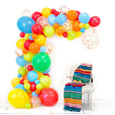 FIESTA Balloon Garland Kit - Junibel