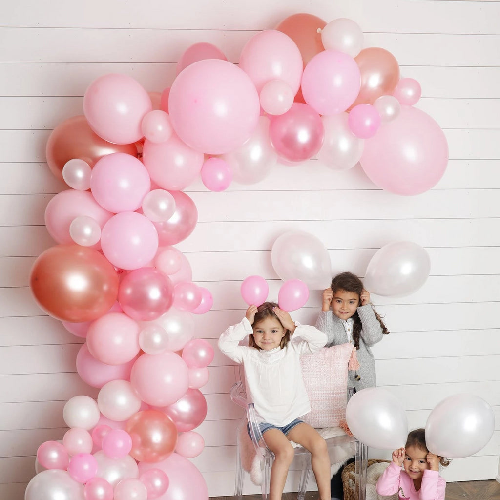 PRETTY PINKS Balloon Garland Kit - Junibel