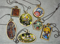 Mini Hoop purse tags/ornaments