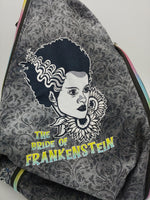 Monster and Bride foldover backpack