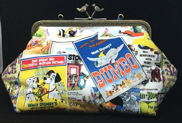 Classic cartoon poster clutch