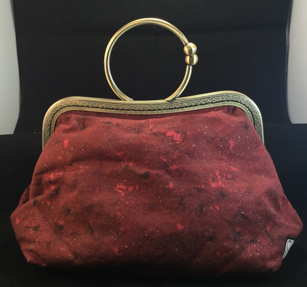 Sparkle red clutch