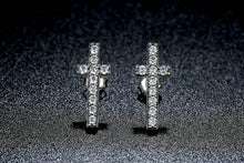 Load image into Gallery viewer, S925 Cross Stud Earrings, , Moxie Jewellery, Moxie Jewellery - Moxie Jewellery