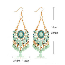 Load image into Gallery viewer, Minty Gold Earrings, , Moxie Jewellery, Moxie Jewellery - Moxie Jewellery