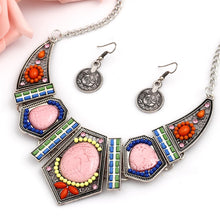 Load image into Gallery viewer, Pink Stoned Set, , Moxie Jewellery, Moxie Jewellery - Moxie Jewellery
