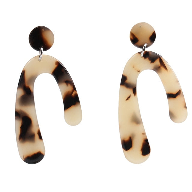 Hook Acrylic Earrings, , Moxie Jewellery, Moxie Jewellery - Moxie Jewellery