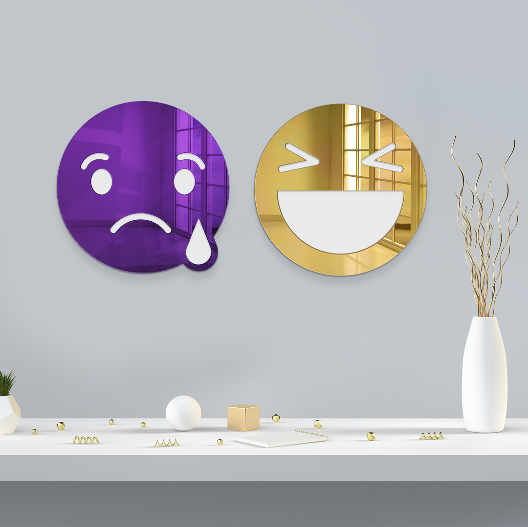 SAD EMOJI MIRROR