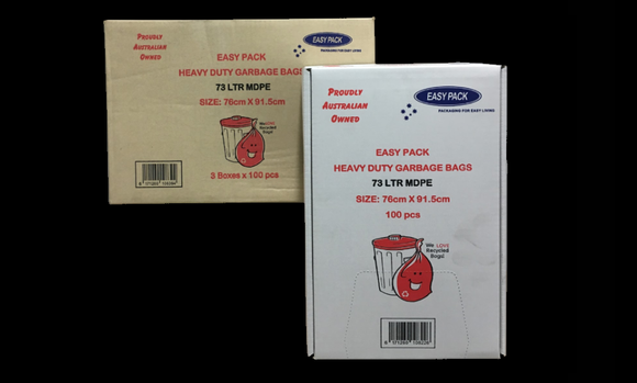 Garbage Bags with Dispenser