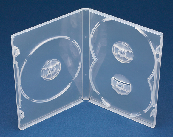 Triple DVD Case with Overlap (D3NC) 100s