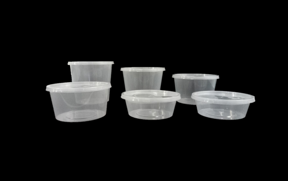 Round Food Containers (Base)
