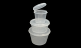 1oz Sauce Container with Hinged Lids