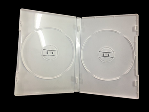 Double Disc DVD Case, White