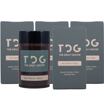 "100g - The saver<br>The Daily Groom Hair Fibres<br><font color=""red"">FREE Delivery</font>"