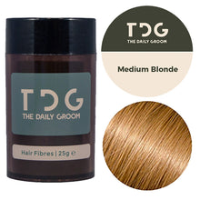 "25g - The starter <br> <font color=""#D1A827"">2 months supply</font><!-- The Daily Groom Hair Fibres --><br><strong>FREE Delivery</strong>"