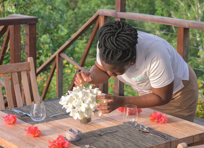 A surprise marriage proposal at boutique resort, Secret Bay in Dominica