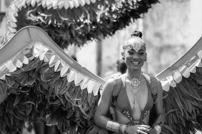 Capturing Carnival in monochrome