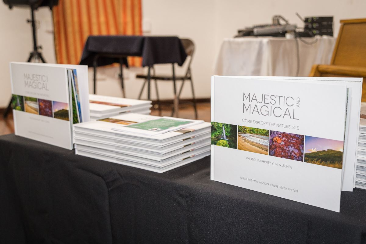 The official launch of 'Majestic and Magical'!