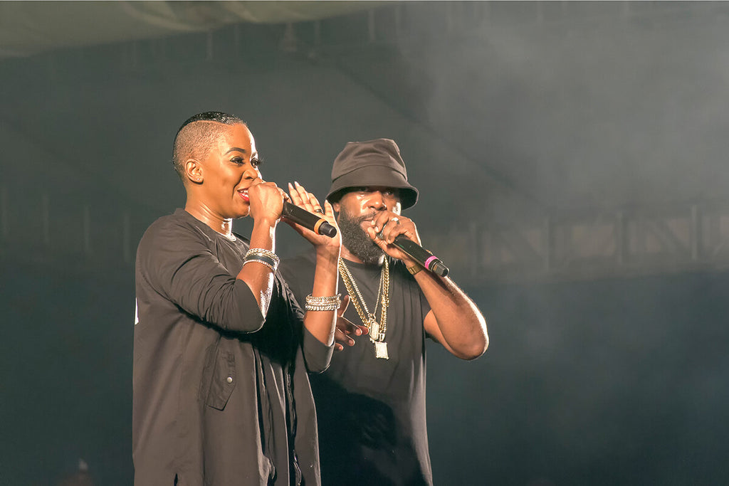 Soca icons, Bunji Garlin and Fay-Ann Lyons at WCMF 2019