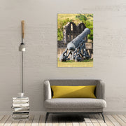 Canvas print of Brimstone Hill Cannon I by Yuri A Jones