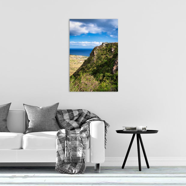 Canvas print of Brimstone Hill Ruins I by Yuri A Jones