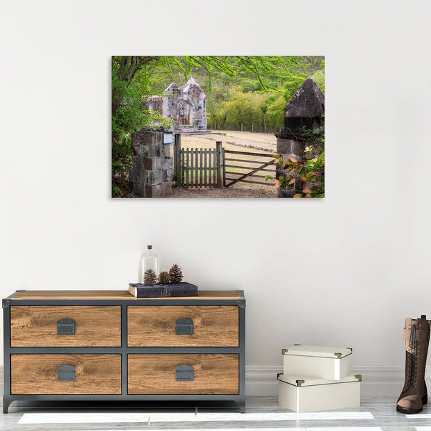 Canvas print of Cottle Church I by Yuri A Jones